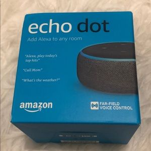 Amazon Echo Dot 3rd Generation (latest)